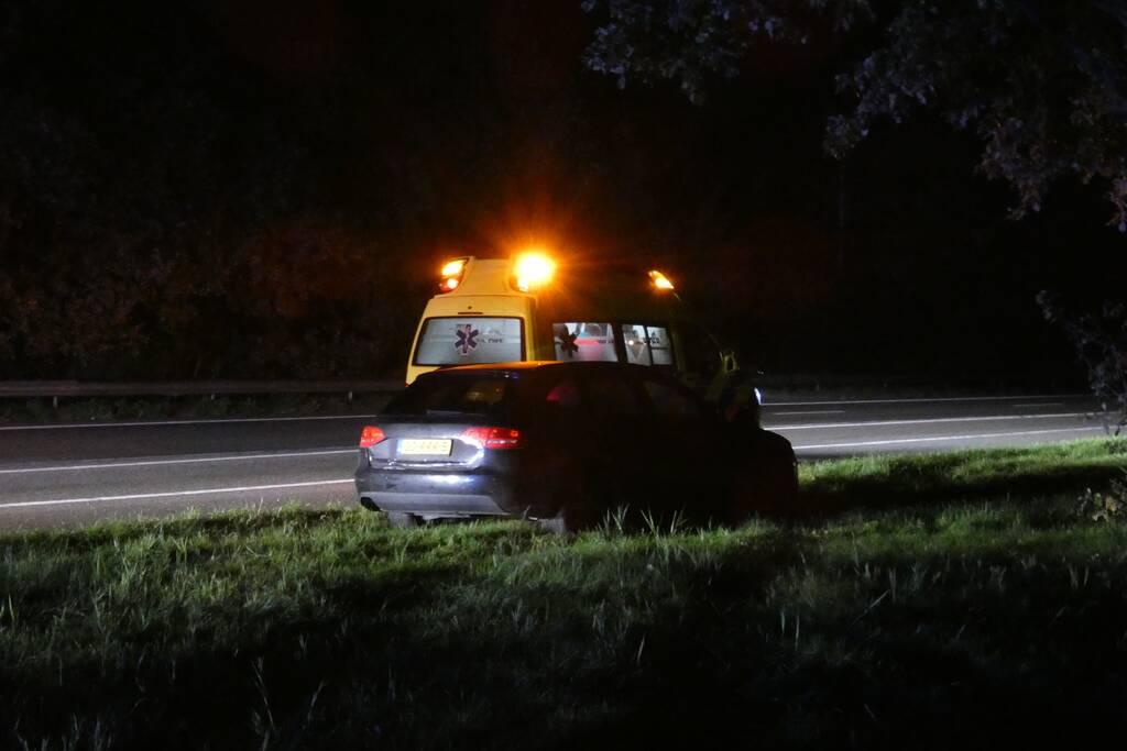 Gewonden bij aanrijding op snelweg