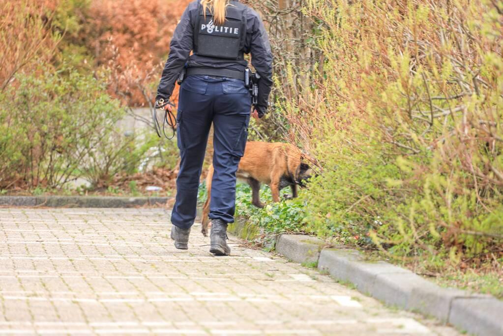 Politiehond gewond bij aanhouding