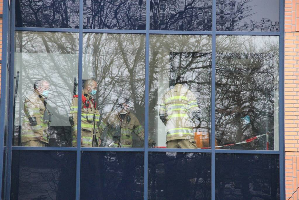 Brandweerman overleden na val van 4 meter