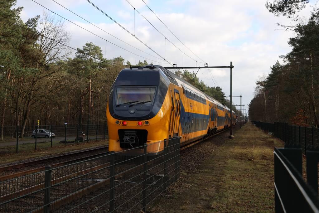 Geen treinverkeer na aanrijding met persoon
