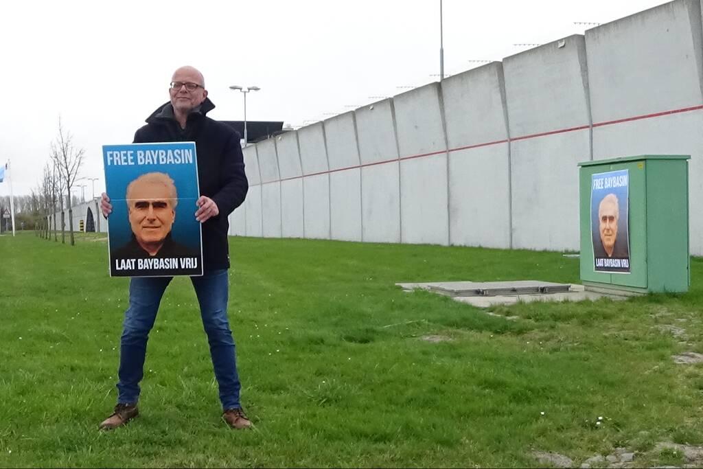Demonstratie voor vrijlating Koerd Baybasin