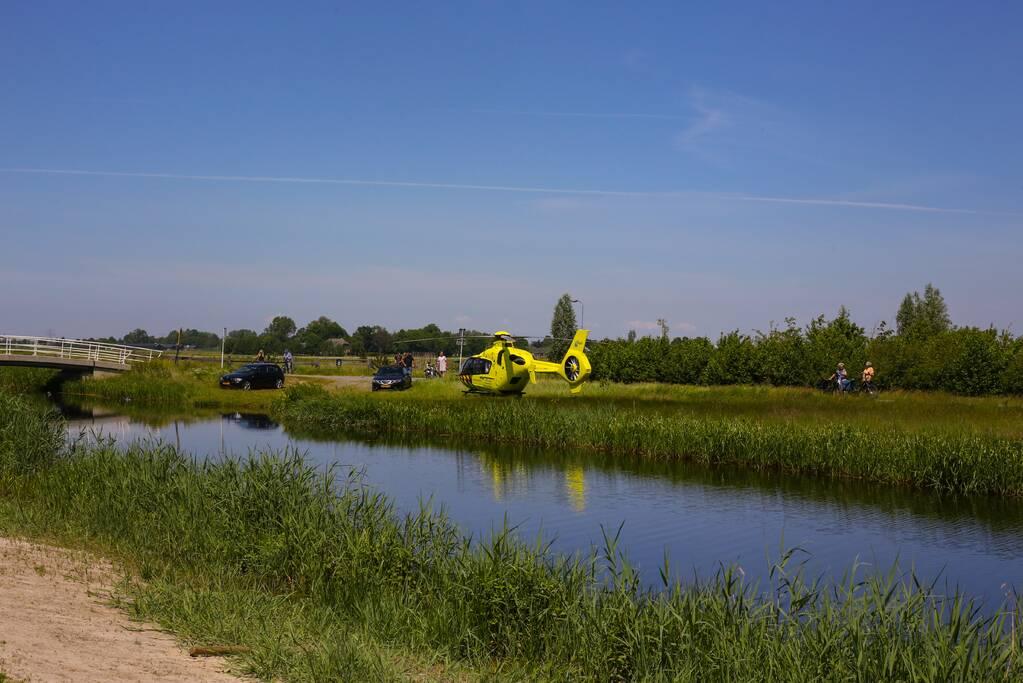 Traumahelikopter landt voor incident in Vathorst