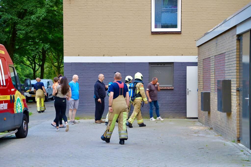 Onderzoek naar brandlucht in afzuiginstallatie