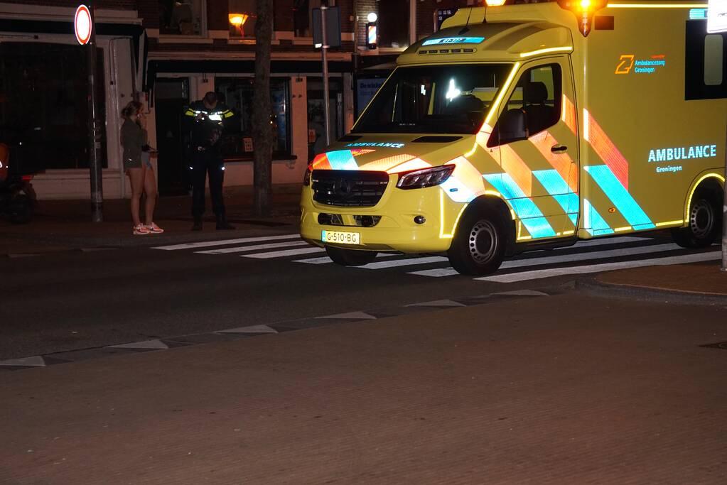 Fietser gewond door aanrijding met personenauto