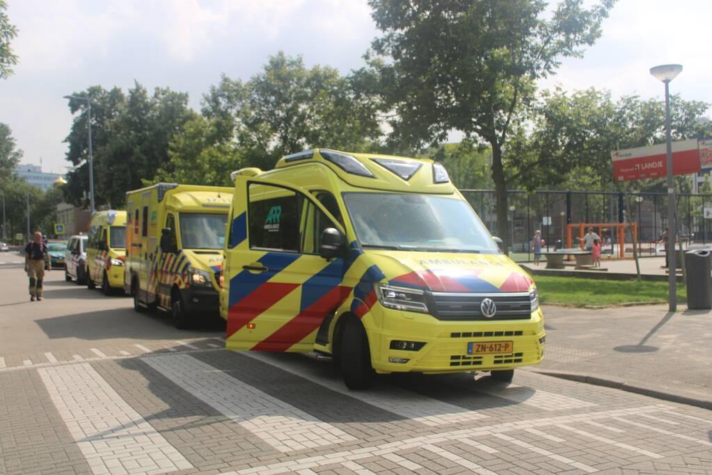Oogziekenhuis ontruimd na zeer grote brand