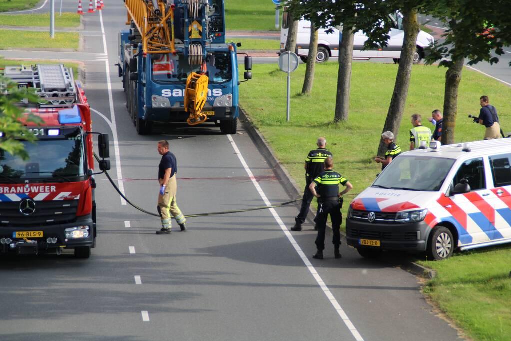 Motorrijder komt om het leven bij verkeersongeval
