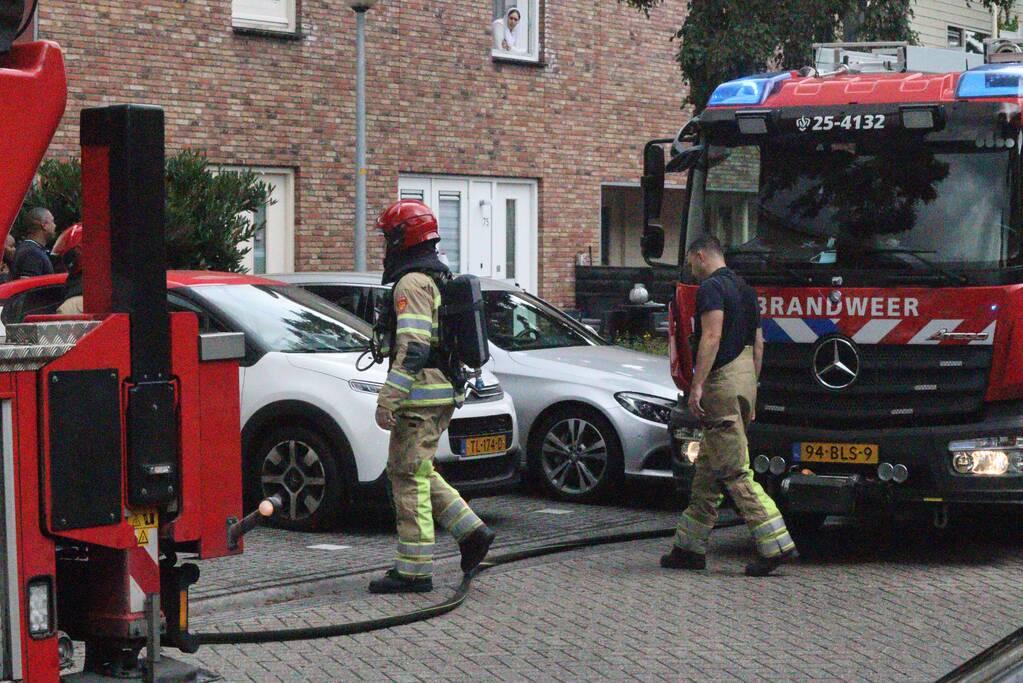 Keukenbrand in woning snel onder controle