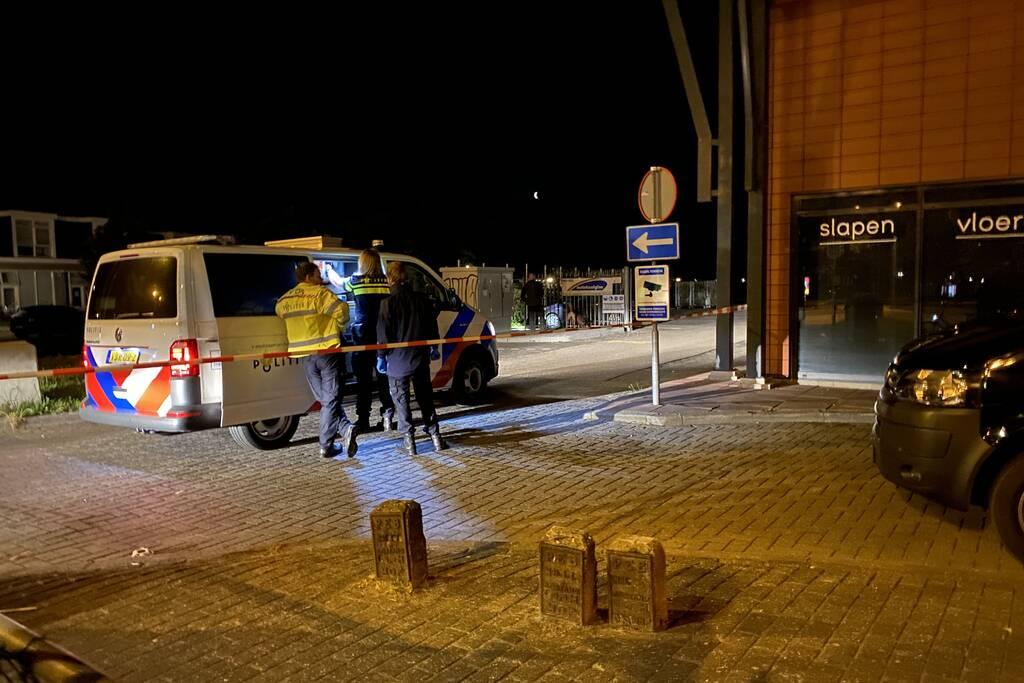 Politie lost meerdere schoten tijdens zoektocht naar man met vuurwapen