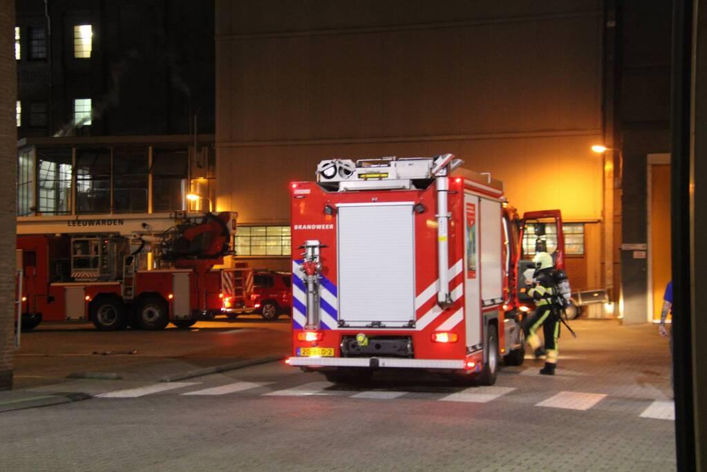 Brand bij Koopmans meelfabriek