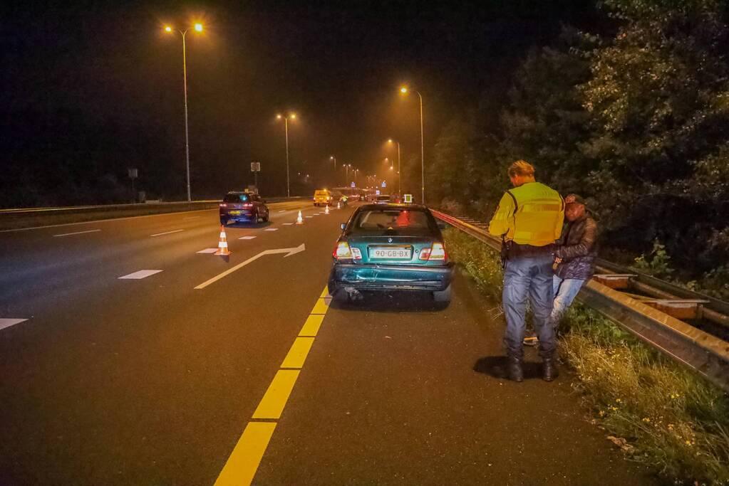 Meerdere voertuigen betrokken bij aanrijding