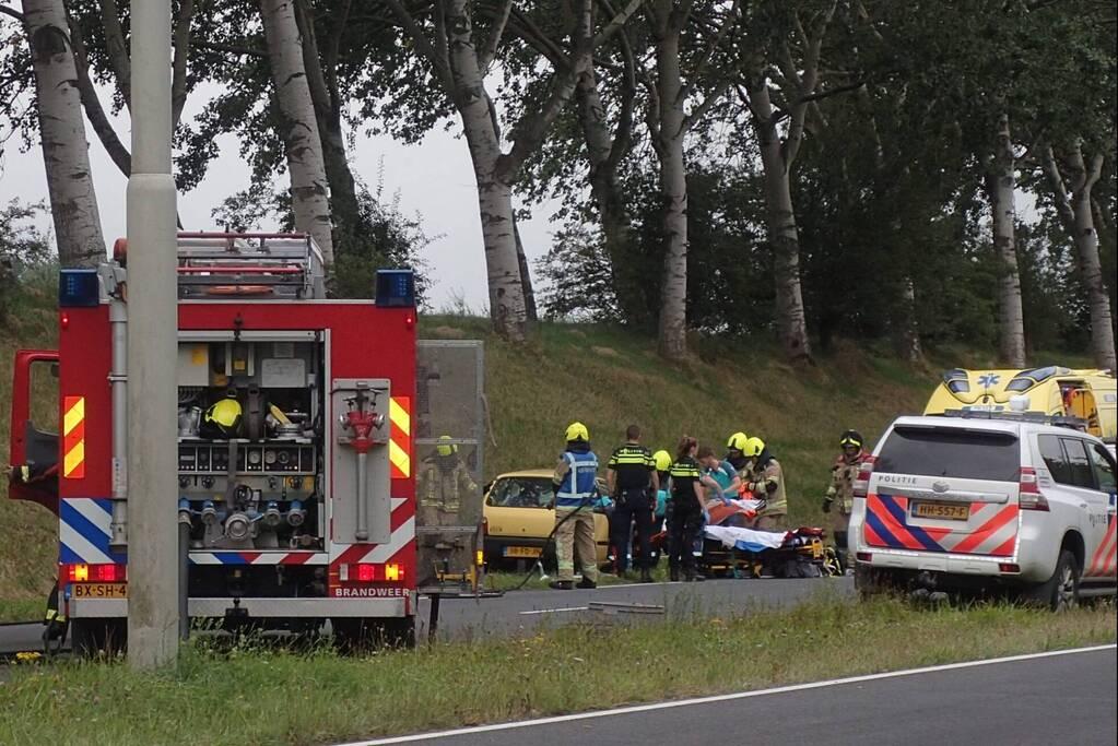 Veel schade bij ongeval