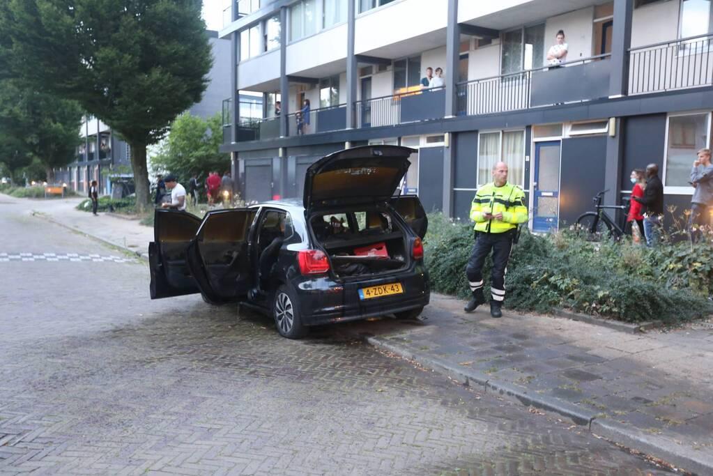Onderzoek naar brand in auto