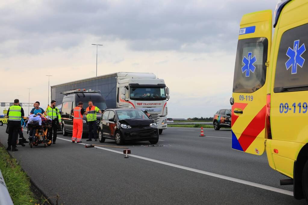 Meerdere gewonden en verkeersinfarct door ongeval