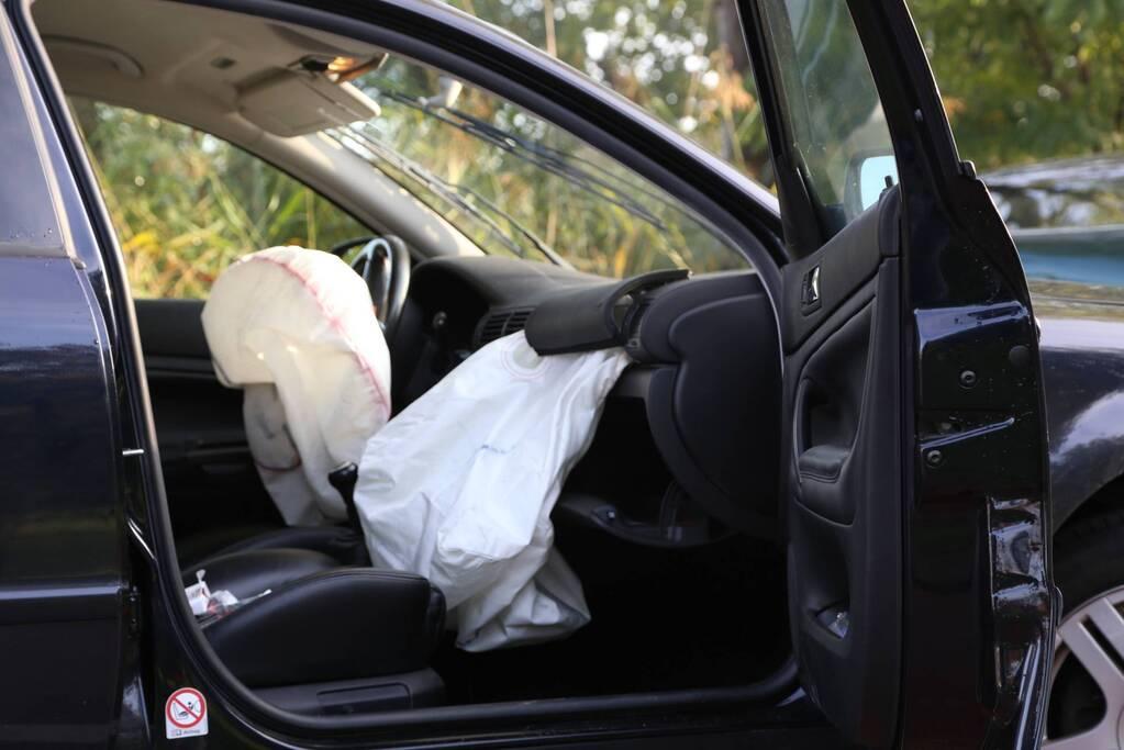 Spookrijder veroorzaakt ongeval