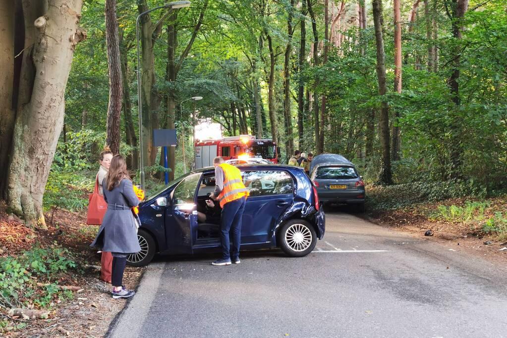 Verkeersopstopping na verkeersongeval