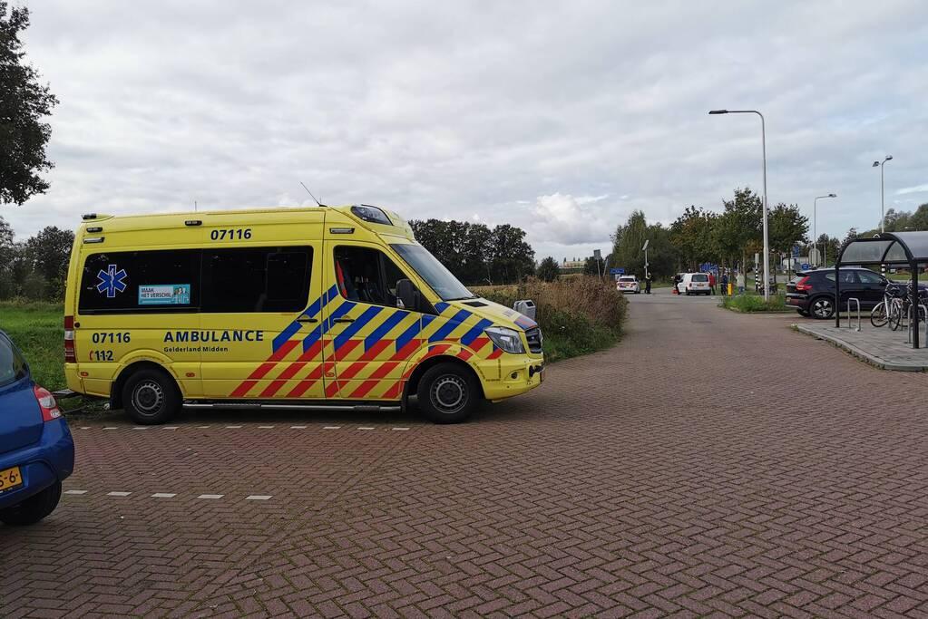 Scooterrijder gewond bij botsing met fietsster