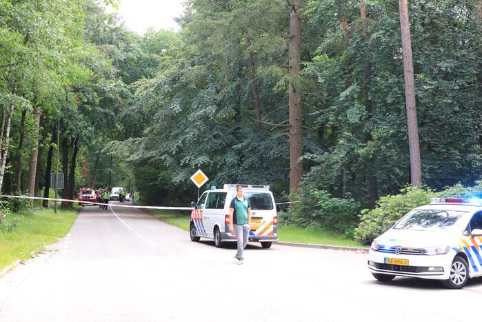 Twee personen zwaargewond na vermoedelijk straatrace