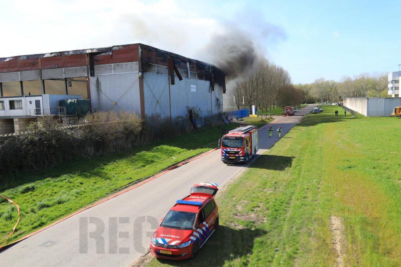 Grote brand recyclingbedrijf De Vijfhoek - Cirwinn