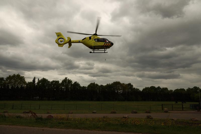 14-jarig meisje ernstig gewond na ongeval
