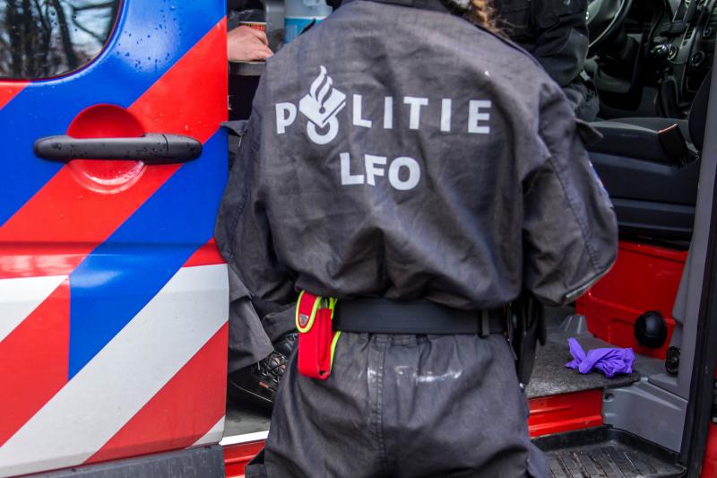 Vier personen aangehouden na aantreffen drugslab