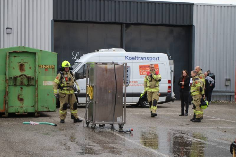Oven congrescentrum De Loods vat vlam, Gildenstraat Nijkerk - Hardnieuws
