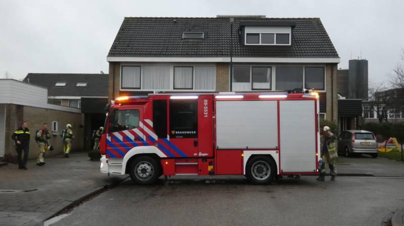 #Veenendaal Smeulend materiaal in wasdroger zorgt voor inzet brandweer Noorderkroon Veenendaal.