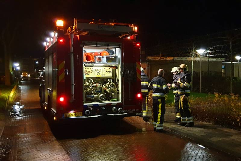 Brand in appartement woonzorgcentrum Skilhiem