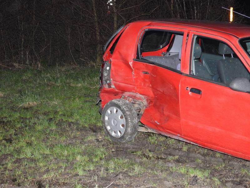 Persoon gewond bij ongeval