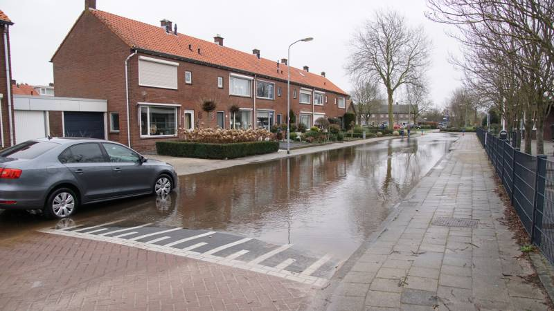 waterlekkage tulpstraat oldebroek