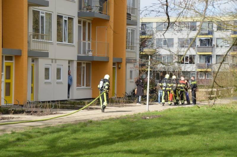 Brand in meterkast flatwoning