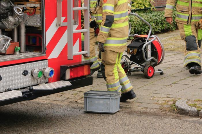 Drie personen uit woning gered bij brand