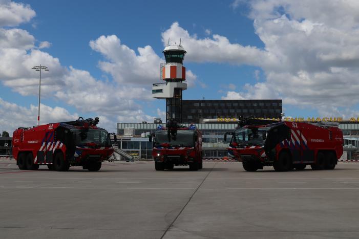 Nieuwe crashtenders voor The Hague Airport