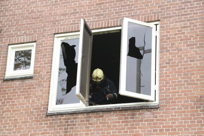 Woning voorlopig onbewoonbaar door brand
