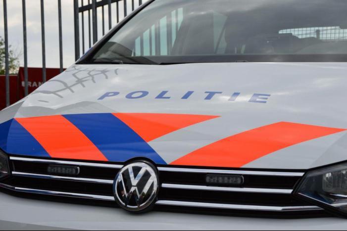 Lege vaten aangetroffen door de politie