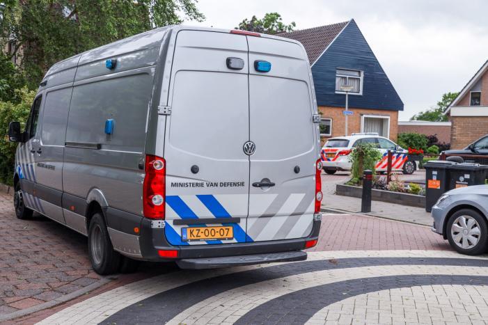 Explosieven opruimingsdienst opgeroepen bij een zorgwekkende situatie