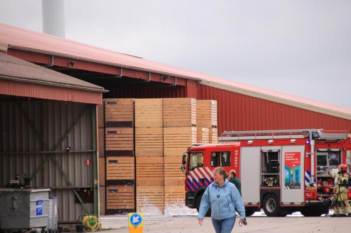 Grote brand in loods Van Andel Bio