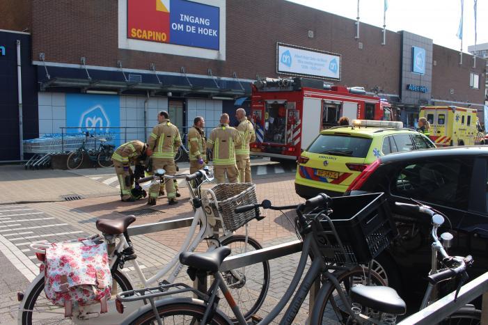 Man overleden na val door dak van supermarkt Albert Heijn