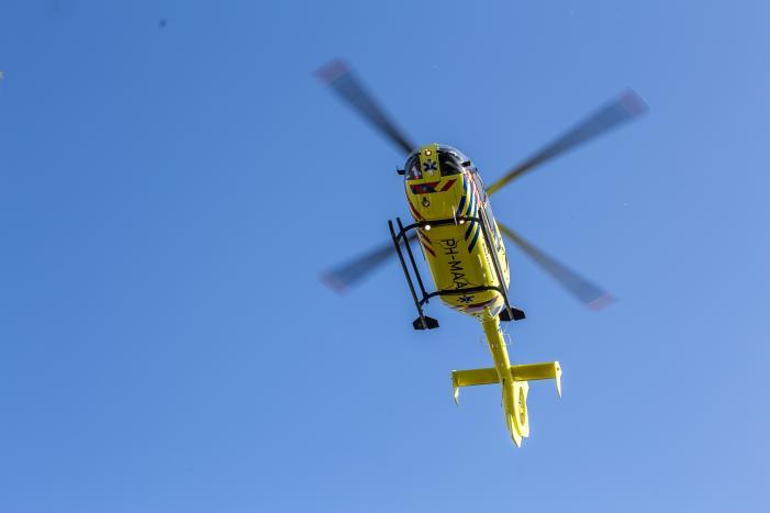 Traumahelikopter ingezet voor ernstig ongeval