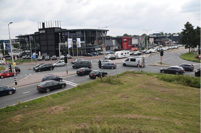 Verkeerschaos door werkzaamheden op snelweg