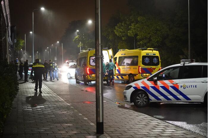 Eén gewonde bij schietpartij, politie doet onderzoek