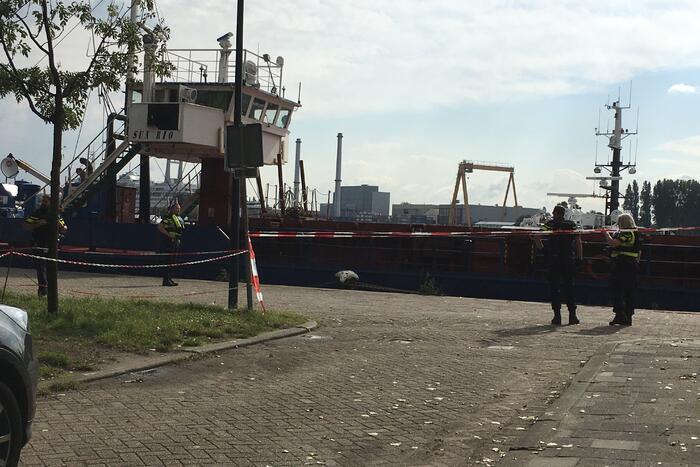 Douane en politie doorzochten schip de Sun Rio