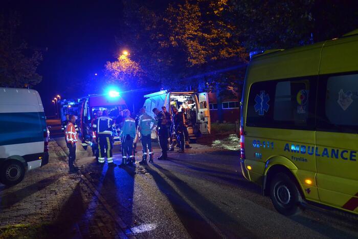 Hulpdiensten groots ingezet voor incident bij bouwbedrijf