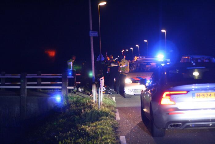 Twee personen aangehouden na achtervolging op scooter
