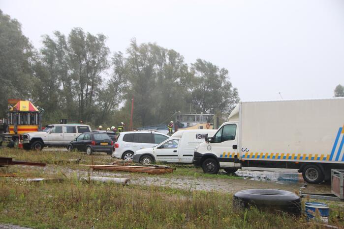 Politie-inval in sloopschip