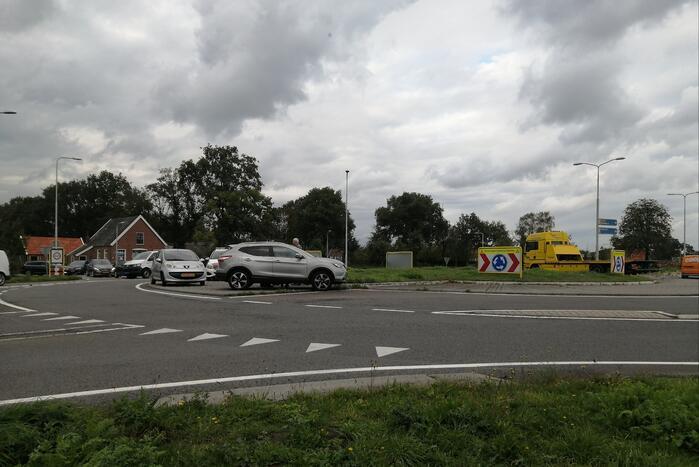 Ongeval tussen twee auto's