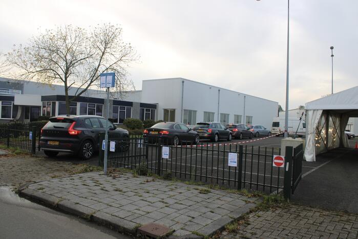 Covid-19 drive-thru-teststraat U-Diagnostics geopend