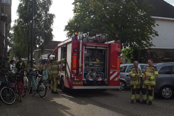 Brand in woning in Bunnepe