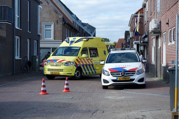 Fietsster gewond na botsing met personenauto