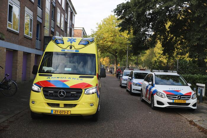 Traumahelikopter ingezet bij incident in flat