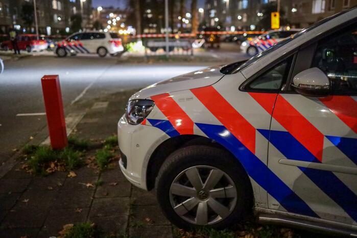 Persoon gewond door rondvliegende glasscherven Winkelcentrum Parijsplein
